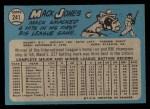 1965 O-Pee-Chee #241   Mack Jones Back Thumbnail