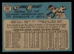 1965 O-Pee-Chee #242   George Brunet Back Thumbnail