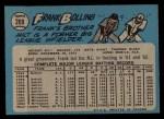 1965 O-Pee-Chee #269   Frank Bolling Back Thumbnail