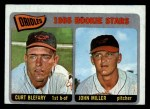 1965 O-Pee-Chee #49  Orioles Rookies  -  Curt Blefary / John Miller Front Thumbnail