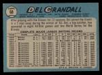 1965 O-Pee-Chee #68  Del Crandall  Back Thumbnail