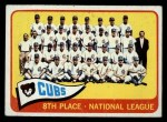 1965 O-Pee-Chee #91   Cubs Team Front Thumbnail