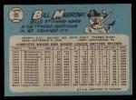 1965 O-Pee-Chee #95  Bill Mazeroski  Back Thumbnail