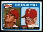 1965 O-Pee-Chee #107  Phillies Rookies  -  Pat Corrales / Costen Shockley Front Thumbnail