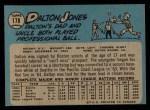 1965 O-Pee-Chee #178   Dalton Jones Back Thumbnail