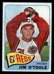 1965 O-Pee-Chee #60   Jim O'Toole Front Thumbnail