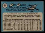 1965 O-Pee-Chee #59   Nate Oliver Back Thumbnail