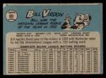 1965 O-Pee-Chee #69   Bill Virdon Back Thumbnail