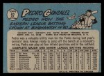 1965 O-Pee-Chee #97  Pedro Gonzalez  Back Thumbnail