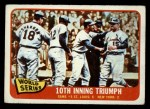1965 O-Pee-Chee #136  1964 World Series - Game #5 - 10th Inning Triumph  -  Tim McCarver / Bill White / Dick Groat / Mike Shannon Front Thumbnail