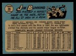 1965 O-Pee-Chee #20   Jim Bunning Back Thumbnail