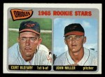 1965 O-Pee-Chee #49   -  Curt Blefary / John Miller Orioles Rookies Front Thumbnail