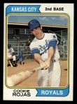 1974 Topps #278   Cookie Rojas Front Thumbnail