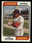 1974 Topps #418  Walt Williams  Front Thumbnail