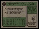1974 Topps #437  Jim Lyttle  Back Thumbnail