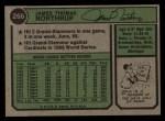1974 Topps #266   Jim Northrup Back Thumbnail
