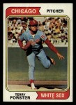 1974 Topps #310  Terry Forster  Front Thumbnail