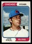 1974 Topps #399   Mike Paul Front Thumbnail