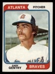 1974 Topps #415   Gary Gentry Front Thumbnail
