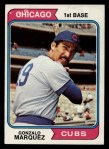 1974 Topps #422   Gonzalo Marquez Front Thumbnail