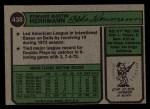 1974 Topps #438   Ed Herrmann Back Thumbnail