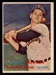 1957 Topps #267   Danny Kravitz Front Thumbnail