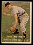 1957 Topps #278   Fred Hatfield Front Thumbnail
