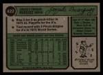 1974 Topps #422   Gonzalo Marquez Back Thumbnail