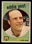 1959 Topps #2   Eddie Yost Front Thumbnail