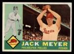 1960 Topps #64  Jack Meyer  Front Thumbnail