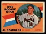 1960 Topps #143   -  Al Spangler Rookies Front Thumbnail