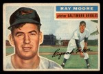 1956 Topps #43   Ray Moore Front Thumbnail