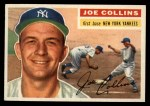 1956 Topps #21   Joe Collins Front Thumbnail