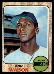 1968 Topps #77   Don Wilson Front Thumbnail