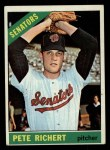 1966 Topps #95   Pete Richert Front Thumbnail