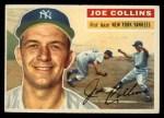1956 Topps #21  Joe Collins  Front Thumbnail
