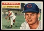 1956 Topps #47   Art Fowler Front Thumbnail