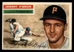 1956 Topps #65   John O'Brien Front Thumbnail