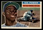 1956 Topps #67  Vic Power  Front Thumbnail