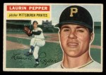 1956 Topps #108  Laurin Pepper  Front Thumbnail