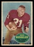 1960 Topps #124  Don Bosseler  Front Thumbnail