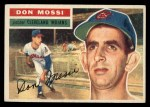 1956 Topps #39  Don Mossi  Front Thumbnail