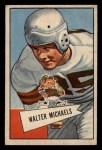 1952 Bowman Small #62  Walt Michaels  Front Thumbnail