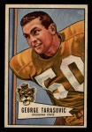 1952 Bowman Small #94   George Tarasovic Front Thumbnail