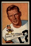 1952 Bowman Small #111  George Ratterman  Front Thumbnail