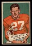 1952 Bowman Small #41  Claude Hipps  Front Thumbnail