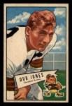 1952 Bowman Small #86   William Dub Jones Front Thumbnail