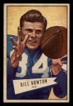 1952 Bowman Small #21   Bill Howton Front Thumbnail