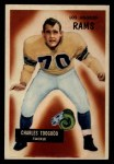 1955 Bowman #89   Charley Toogood Front Thumbnail