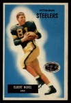 1955 Bowman #124  Elbert Nickel  Front Thumbnail